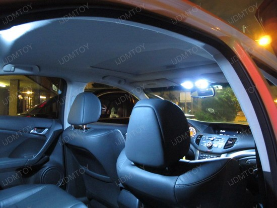 Acura Tsx Custom Led Interior Lights Ijdmtoy Blog For